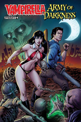 Vampirella / Army of Darkness #4 (Seeley Cover)