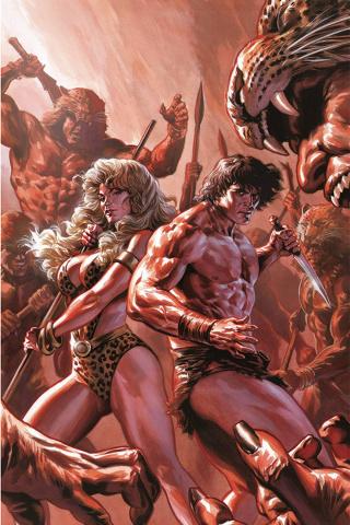Lords of the Jungle #3 (Rare Massafera Virgin Art Cover)