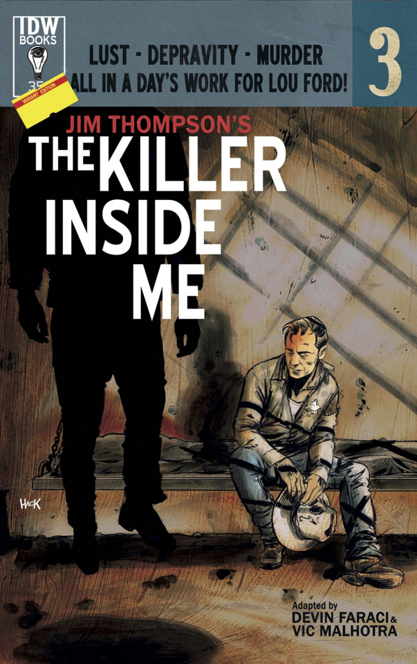 The Killer Inside Me #3 (Subscription Cover)