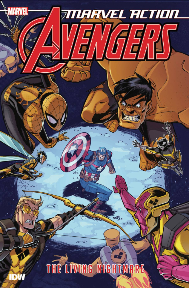 Marvel Action: Avengers Book 4: The Living Nightmare