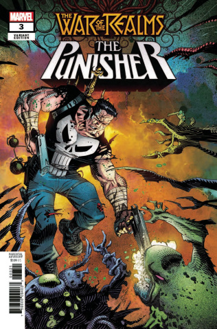 The War of the Realms: The Punisher #3 (Variant Cover)