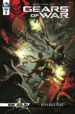 Gears of War: Hivebusters #1 (10 Copy Droal Cover)