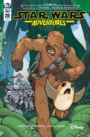 Star Wars Adventures #28 (10 Copy Bracchi Cover)