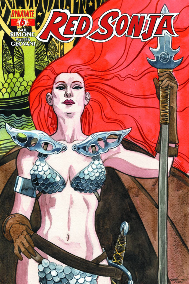Red Sonja #6 (Thompson Cover)