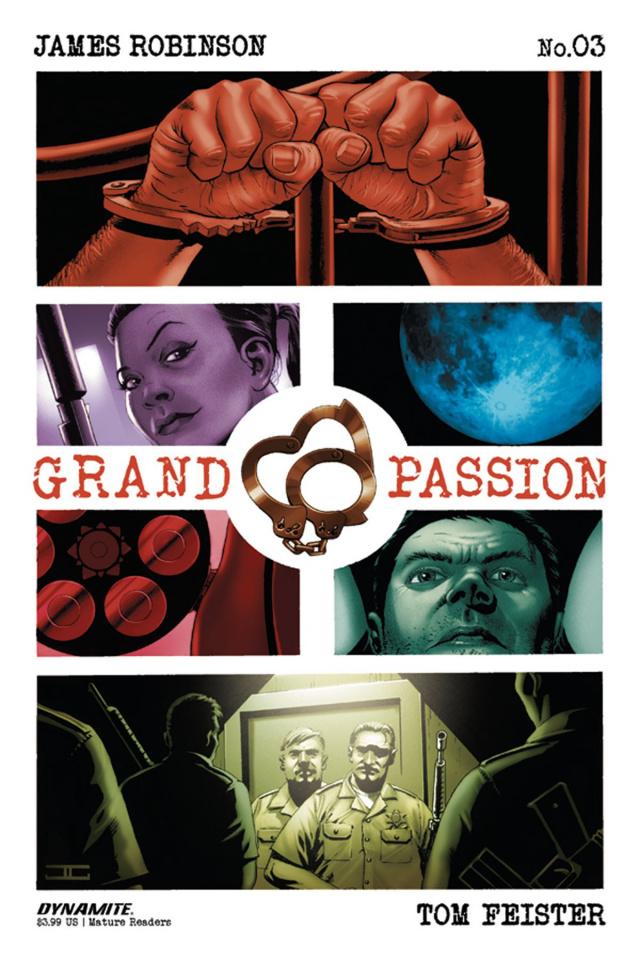 Grand Passion #3 (Cassaday Cover)