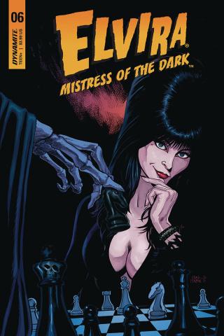 Elvira: Mistress of the Dark #6 (Cermak Cover)