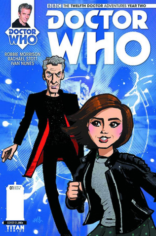 Doctor Who: New Adventures with the Twelfth Doctor, Year Two #1 (Jake Cover)