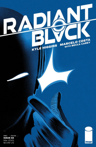 Radiant Black #2 (Costa Cover)