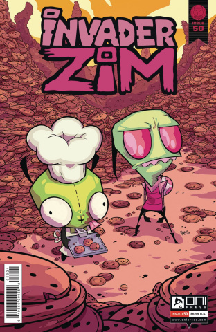 Invader Zim #50 (McGinty Paul Cover)