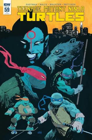 Teenage Mutant Ninja Turtles #59 (Subscription Cover)