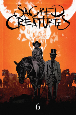 Sacred Creatures #6 (25 Copy Cover)
