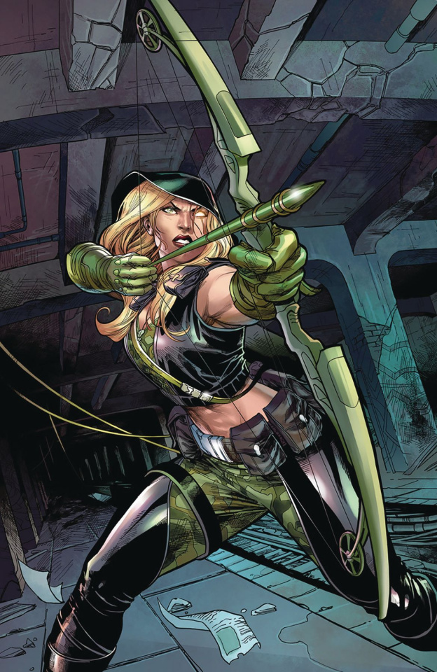 Robyn Hood: Outlaw #3 (Coccolo Cover)