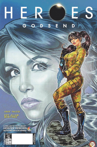 Heroes: Godsend #3 (Melo Cover)