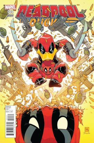 Deadpool the Duck #4 (Variant Cover)