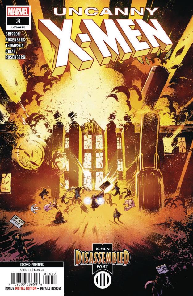 Uncanny X-Men #3 (Cinar 2nd Printing)
