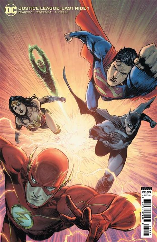 Justice League: Last Ride #1 (Miguel Mendonca Card Stock Cover)