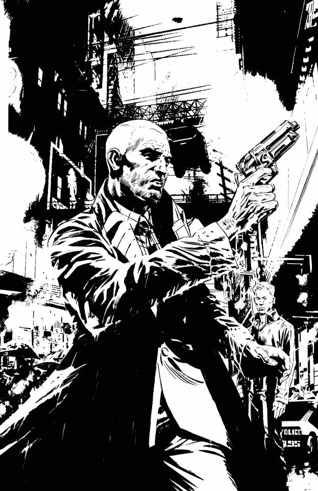 Blade Runner: Origins #6 (Guice B&W Cover)