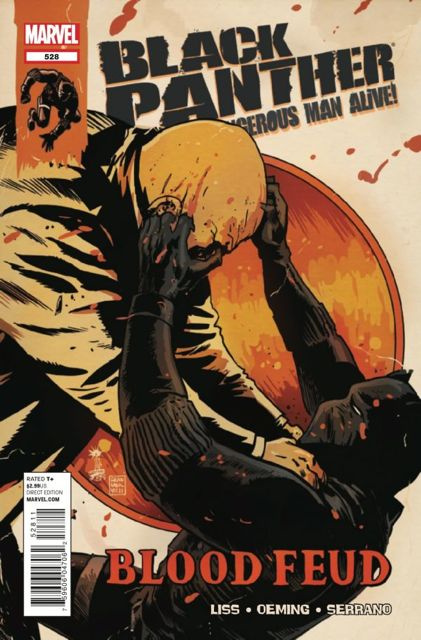 Black Panther: The Most Dangerous Man Alive #528