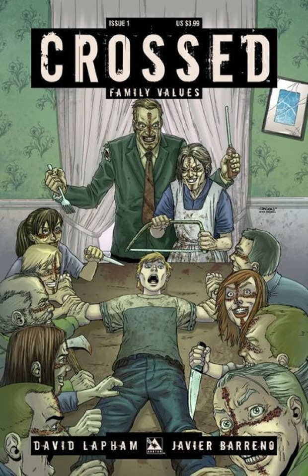 Crossed: Family Values #1-7 Bag Set