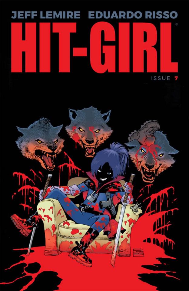 Hit-Girl #7 (Risso Cover)