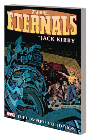 The Eternals by Jack Kirby (Complete Collection Remaster Cover)