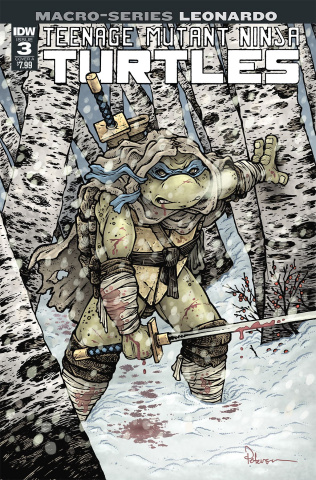Teenage Mutant Ninja Turtles Macro-Series #3: Leonardo (Petersen Cover)
