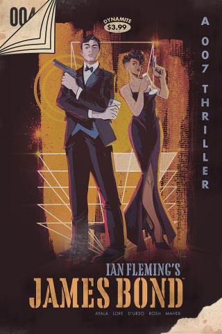 James Bond #4 (25 Copy Vintage Paperback Cover)