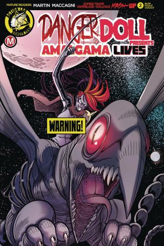 Danger Doll Squad Presents: Amalgama Lives #2 (Maccagni Cover)