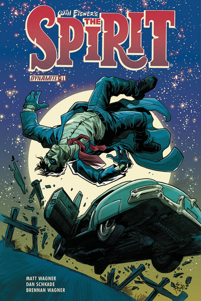 The Spirit #11 (Powell Cover)