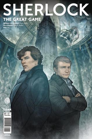 Sherlock: The Great Game #1 (Takeda Cover)