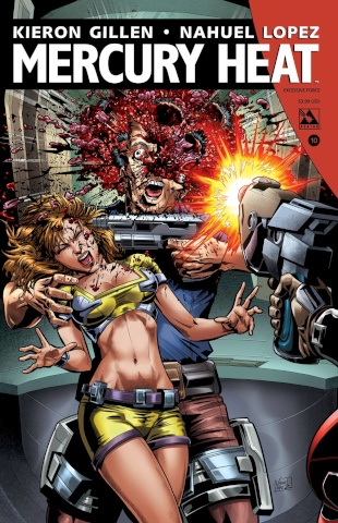 Mercury Heat #10 (Excessive Force Cover)
