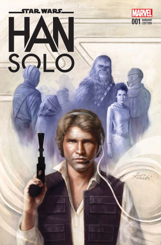 Star Wars: Han Solo #4 (Fagan Cover)