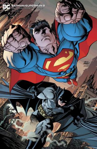 Batman / Superman #8 (Card Stock Andy Kubert Cover)