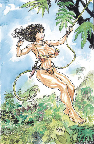 Cavewoman: Double Feature (Massey Cover)