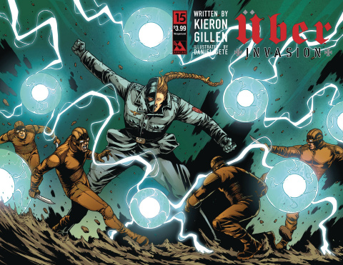 Über: Invasion #15 (Wrap Cover)