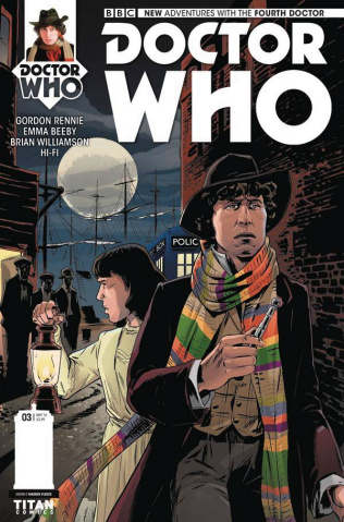 Doctor Who: New Adventures with the Fourth Doctor #3 (Pleece Cover)