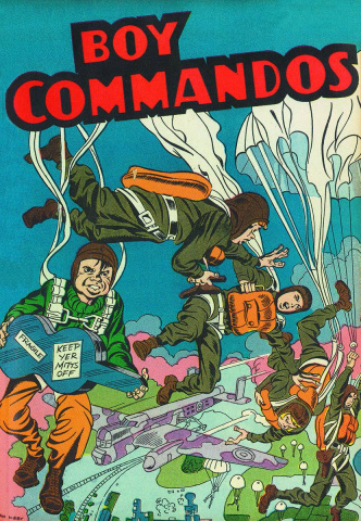 Boy Commandos by Simon and Kirby Vol. 1