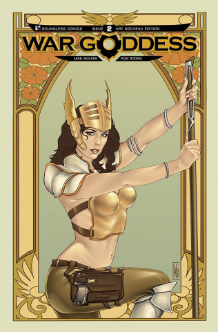 War Goddess #2 (Art Nouveau Cover)