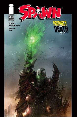Spawn #306 (Mattina Cover)