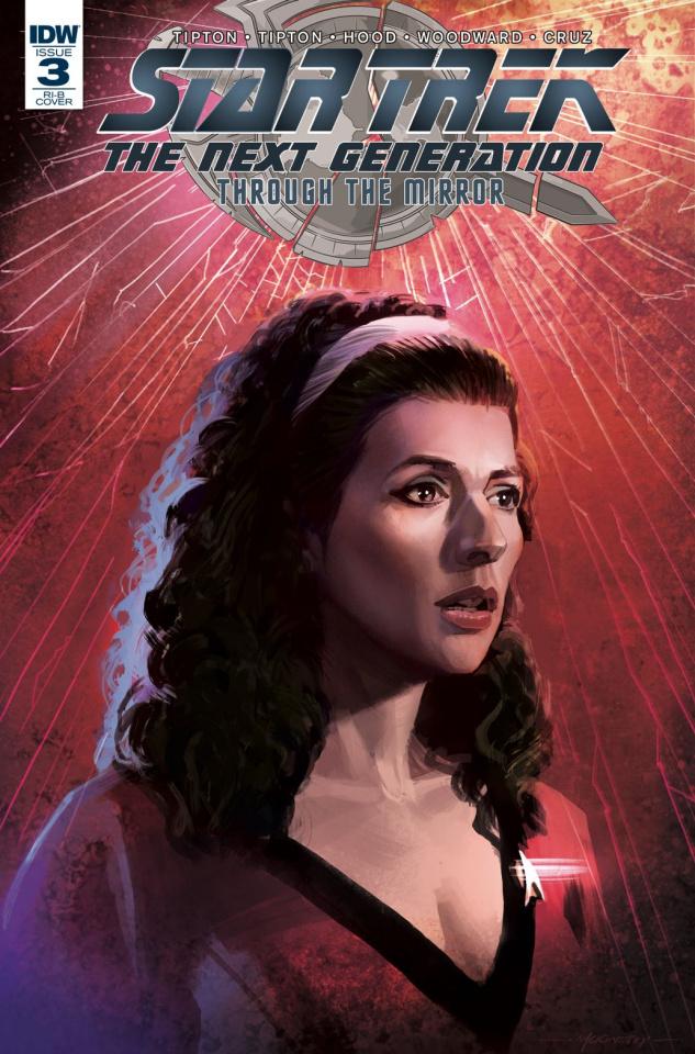 Star Trek: The Next Generation - Through the Mirror #3 (20 Copy Cover)