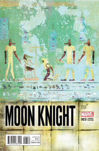 Moon Knight #3 (Variant Cover)