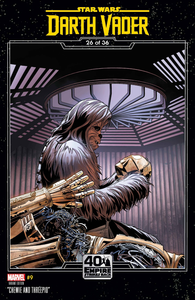 Star Wars: Darth Vader #9 (Sprouse Empire Strikes Back Cover)