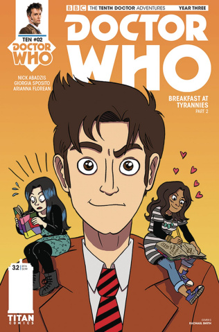 Doctor Who: New Adventures with the Tenth Doctor, Year Three #2 (Smith Cover)