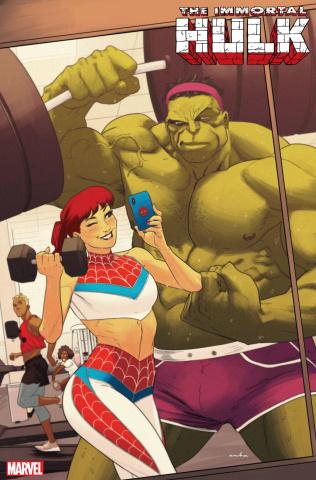The Immortal Hulk #25 (Anka Mary Jane Cover)