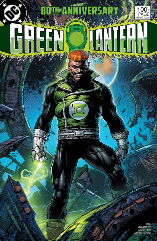 Green Lantern 80th Anniversary 100 Page Super Spectacular #1 (1980s Cover)