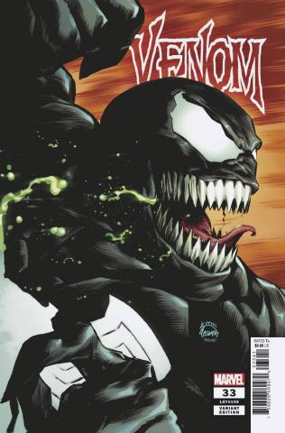 Venom #33 (Stegman Cover)