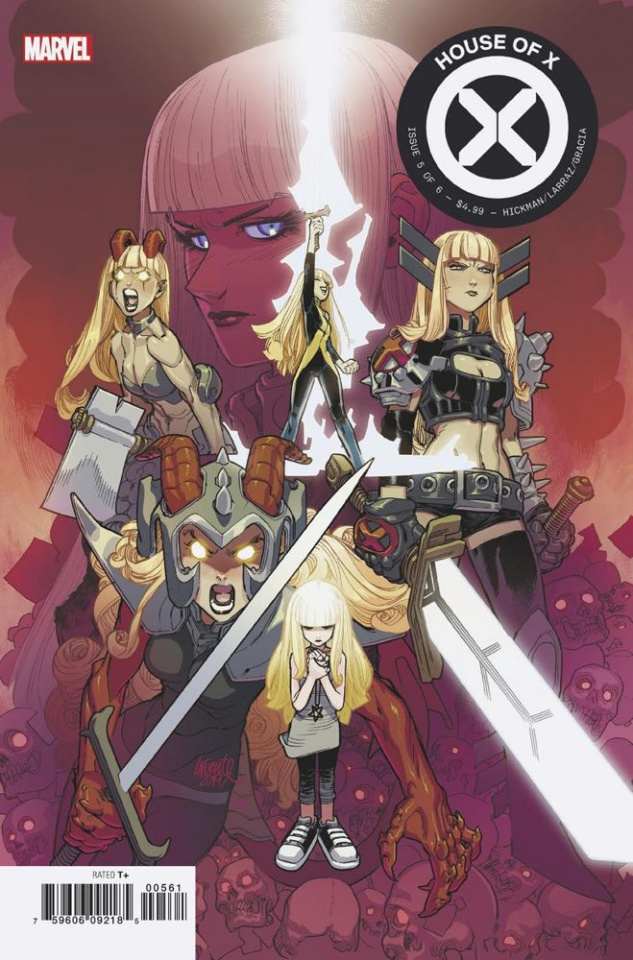 House of X #5 (Lafuente Character Decades Cover)