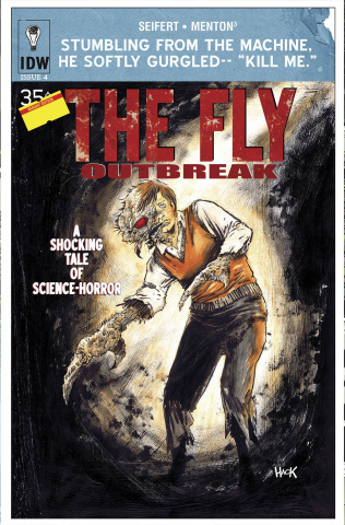 The Fly: Outbreak #4 (Subscription Cover)