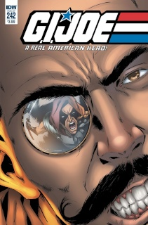 G.I. Joe: A Real American Hero #242 (Gallant Cover)