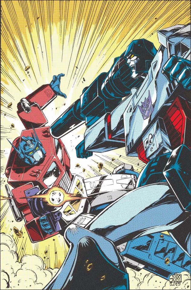 The Transformers '84 #0 (Guidi Cover)